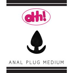 Anal Plug Medium Black