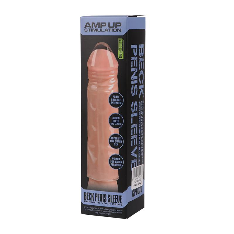 Penis Sleeve Beck Clear