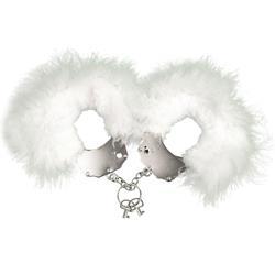 Menottes plumes white-Esposas