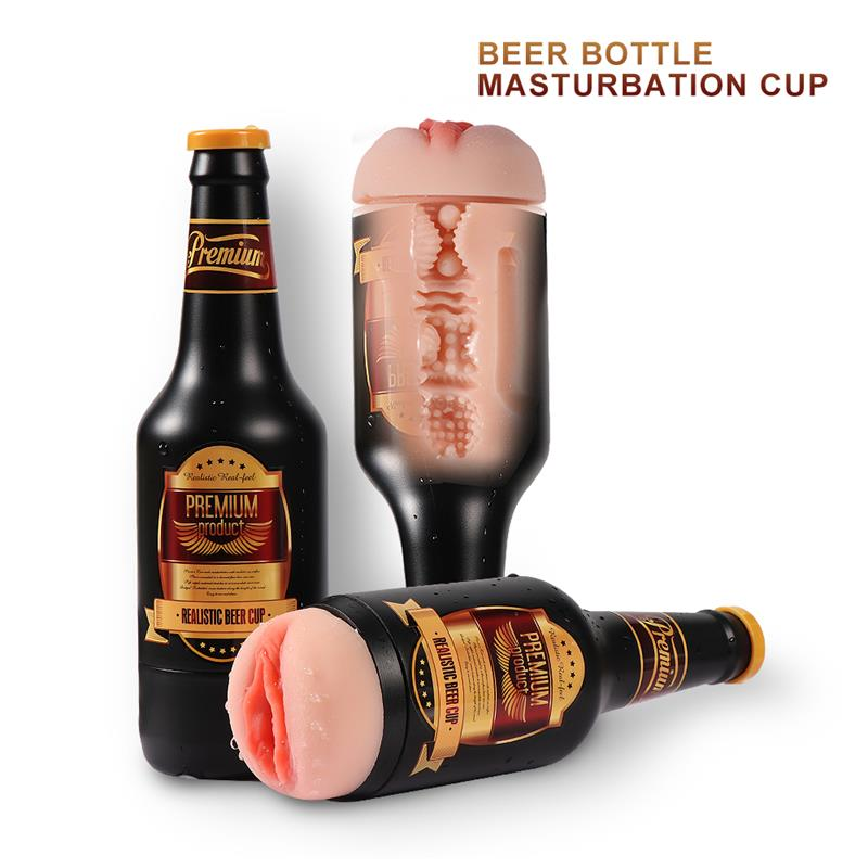 Masturbador Nelly Botella Cerveza de SHEQU #satisfactoys