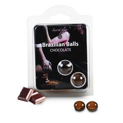 Set 2 Brazilian Balls Chocolate