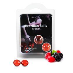SET 2 BRAZILIAN BALLS AROMA FRUTAS DEL BOSQUE