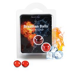 SET 2 BRAZILIAN BALLS EFECTO HOT & COLD
