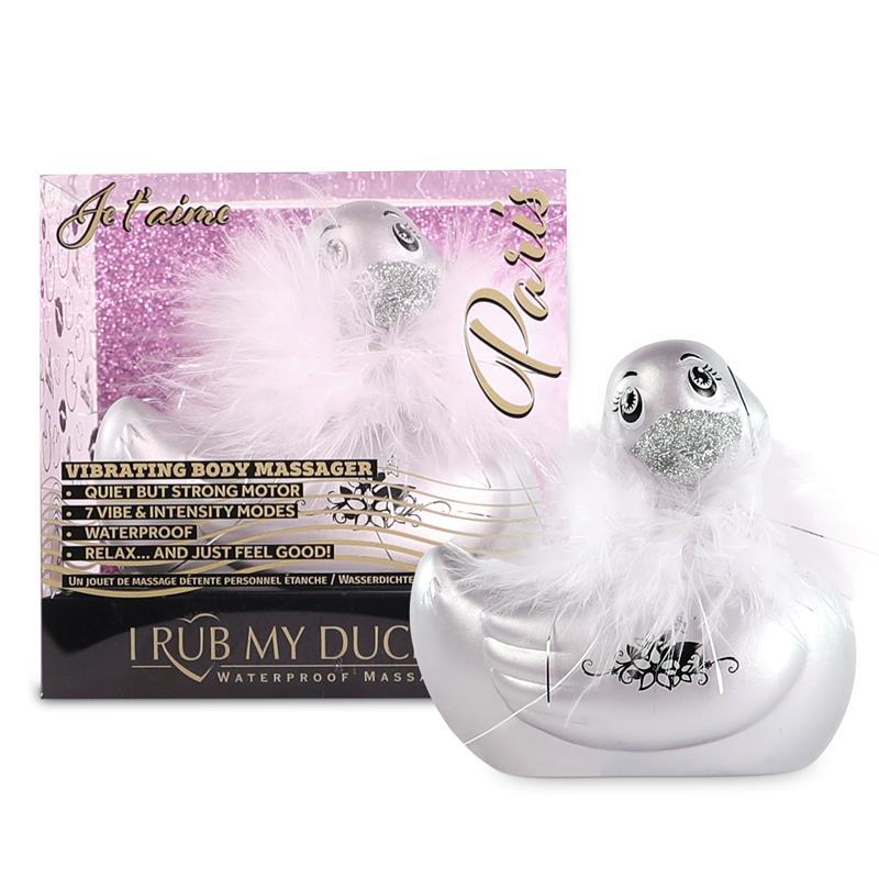 Estimulador I Rub My Duckie 2.0 Paris Plata de BIG TEAZE TOYS #satisfactoys