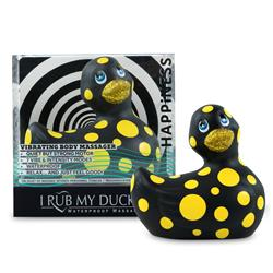 I Rub My Duckie 2.0 Black & Yellow