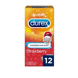 Durex Cond. Emoji Strawberry 12U