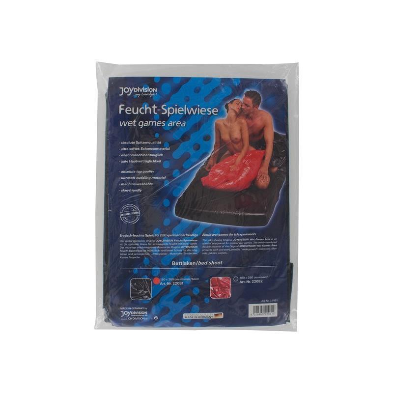 Joy Division Sábanas Wet Games Area 180 x 260 cm Color Negro de JOYDIVISION #satisfactoys
