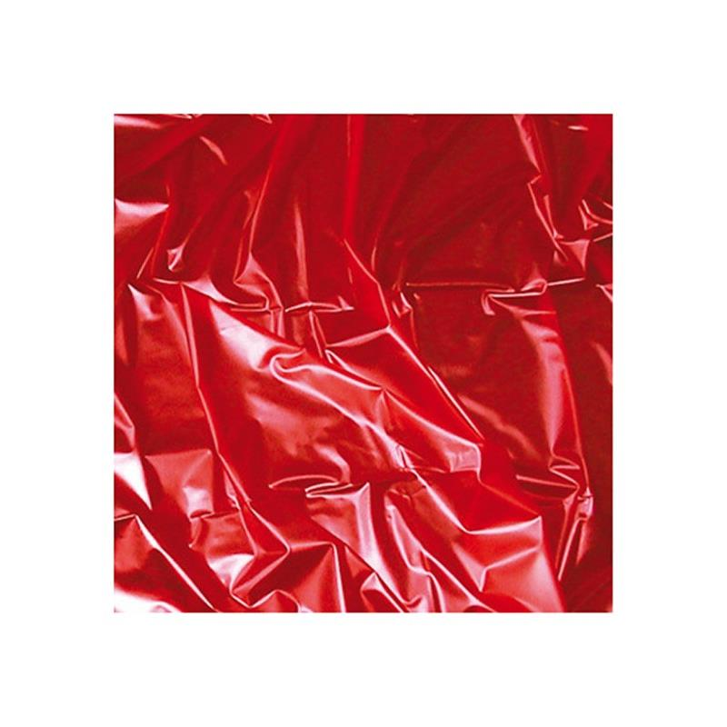 Joy Division Wet hry Area prostěradlo 180 x 260 cm červená