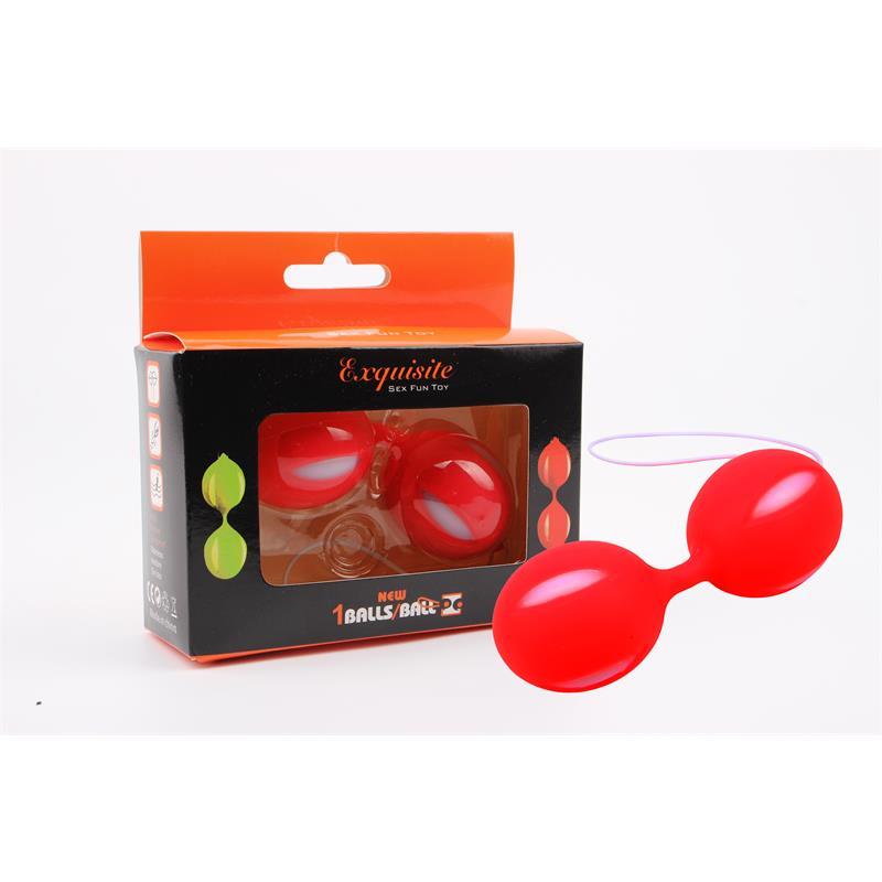 Ben Wa Balls 10.3 cm Red