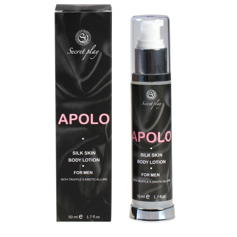 Loción Piel de Seda Apolo For Men 50 ml de SECRET PLAY #satisfactoys
