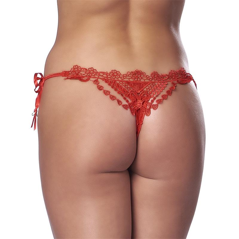 Thong Fantasy Red One Size