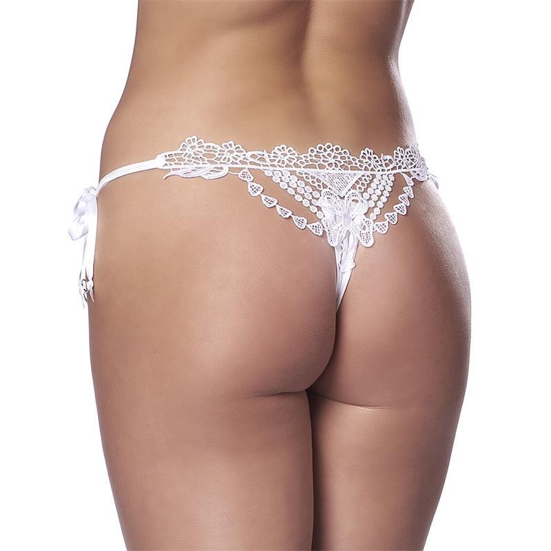 Thong Fantasy White One Size