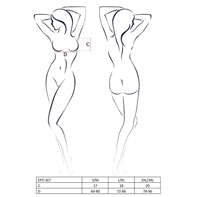 Effi Set White Velikost: S / M