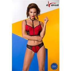 COLINE SET red S/M - Avanua