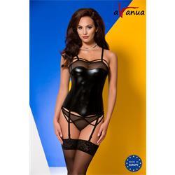 MURIEL CORSET black S/M - Avanua