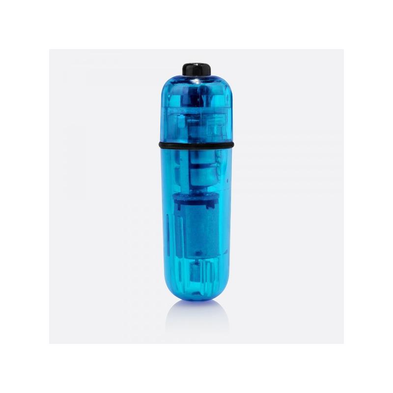 Bala Mini-Vibra Super Potente Azul de SCREAMINGO #satisfactoys