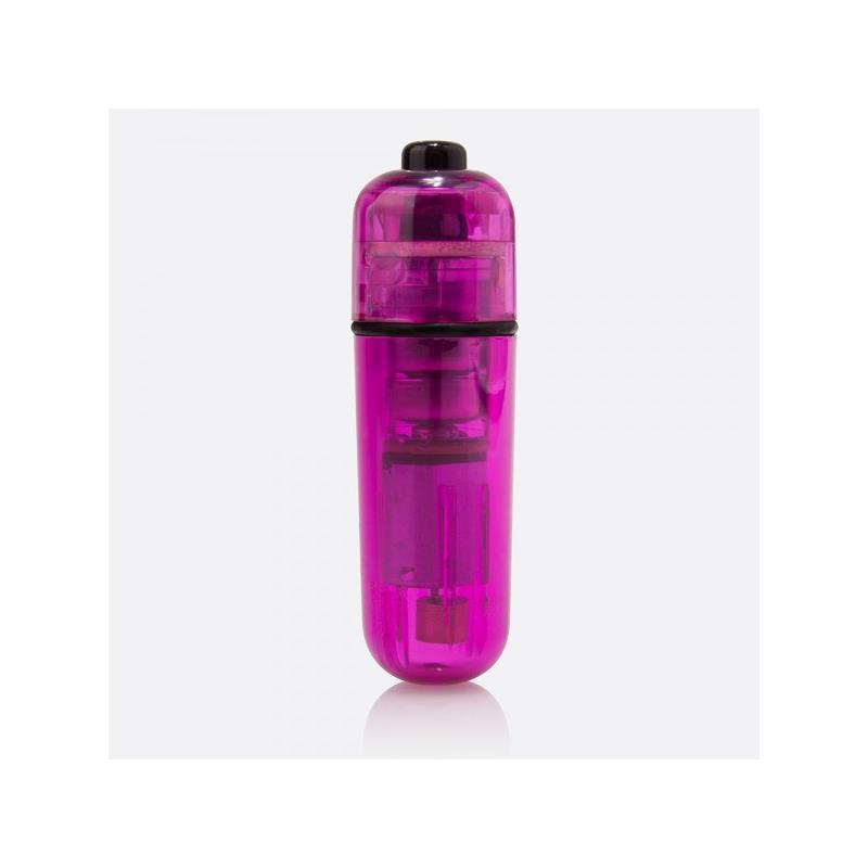 Bala 1 Toque Mini-Vibra Super Potente Púrpura de SCREAMINGO #satisfactoys