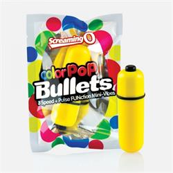 Colorpop bullets - yellow