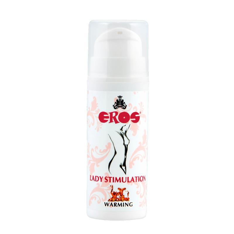 Gel Estimulante Efecto Calor Lady 30 ml de EROS #satisfactoys
