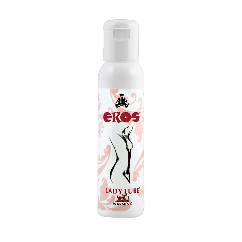 Lubricante Base de Agua Efecto Calor Lady 100 ml de EROS #satisfactoys