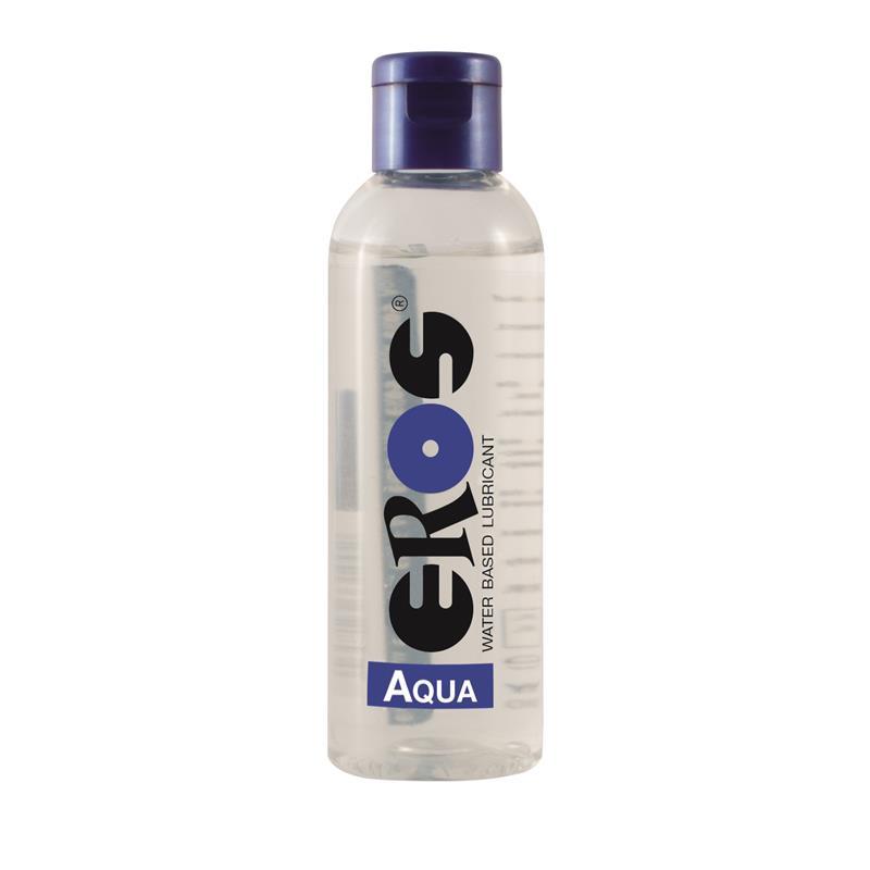 Lubricante Base Agua Aqua Botella 100 ml de EROS #satisfactoys