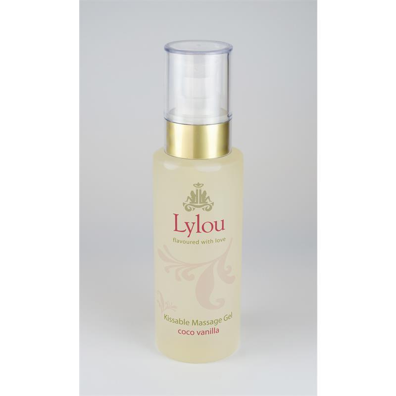 Kissable Massage Gel Heat Effect Coco Vanilla 125 ml