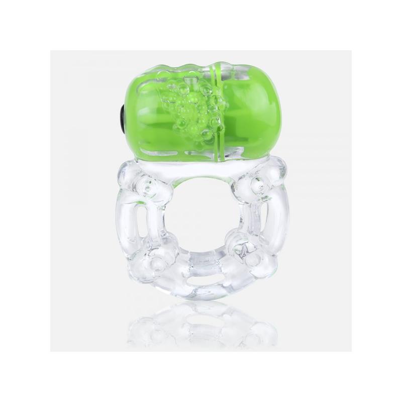 Anillo Vibrador ColorPop Big O Verde de SCREAMINGO #satisfactoys
