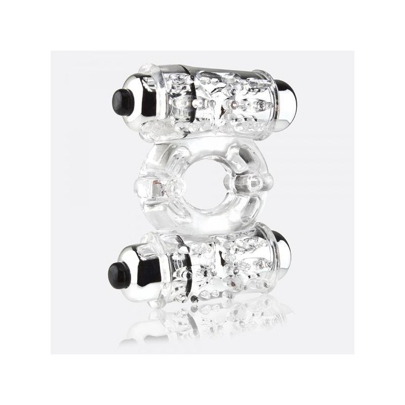 O Wow Double Wammy Ring Transparente de SCREAMINGO #satisfactoys
