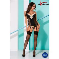 RANIA CORSET black S/M - Avanua