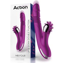 No. Four Up&Down Vibrator with Rotating Wheel