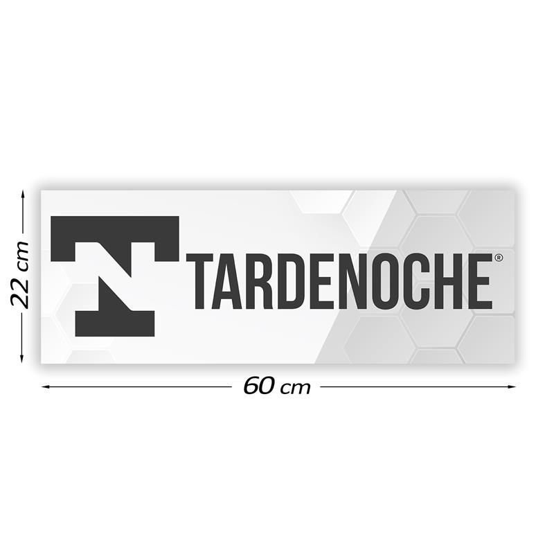Promotional Sign Tardenoche 60 cm x 22 cm