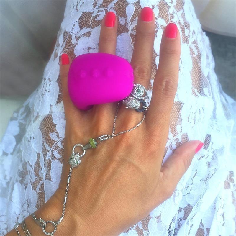 Finger vibrátor prsten Gring XL