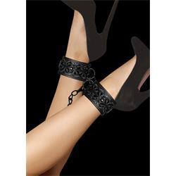 Luxury Ankle Cuffs - Black