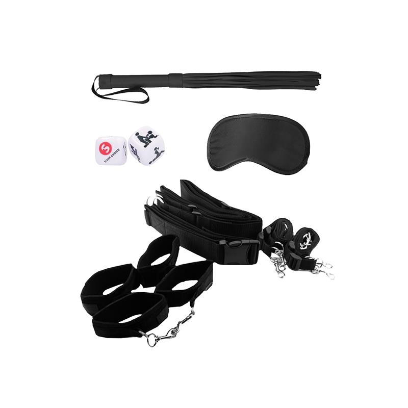 Bondage Belt Restraint System Black
