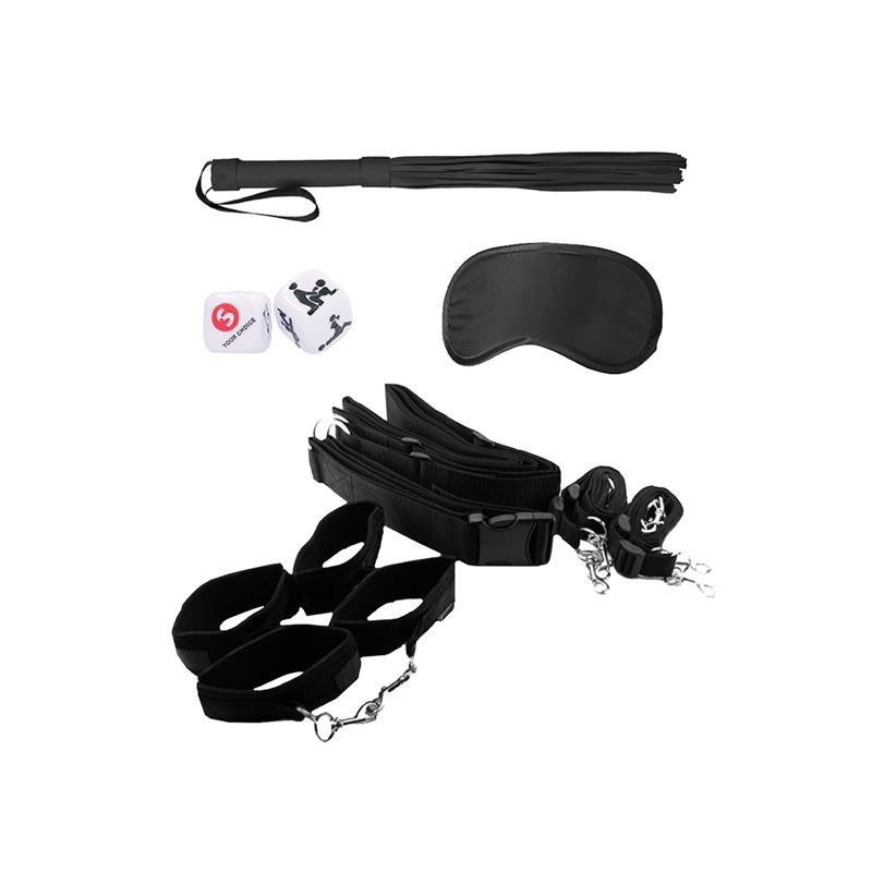Kit de Restriccion para Cintura Negro de OUCH! #satisfactoys