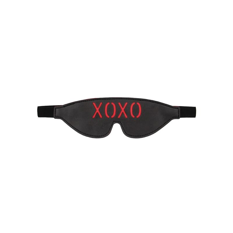 Blindfold XOXO Black