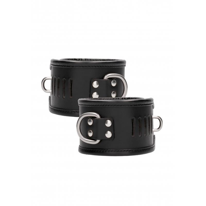 Restraint Handcuff With Padlock Black