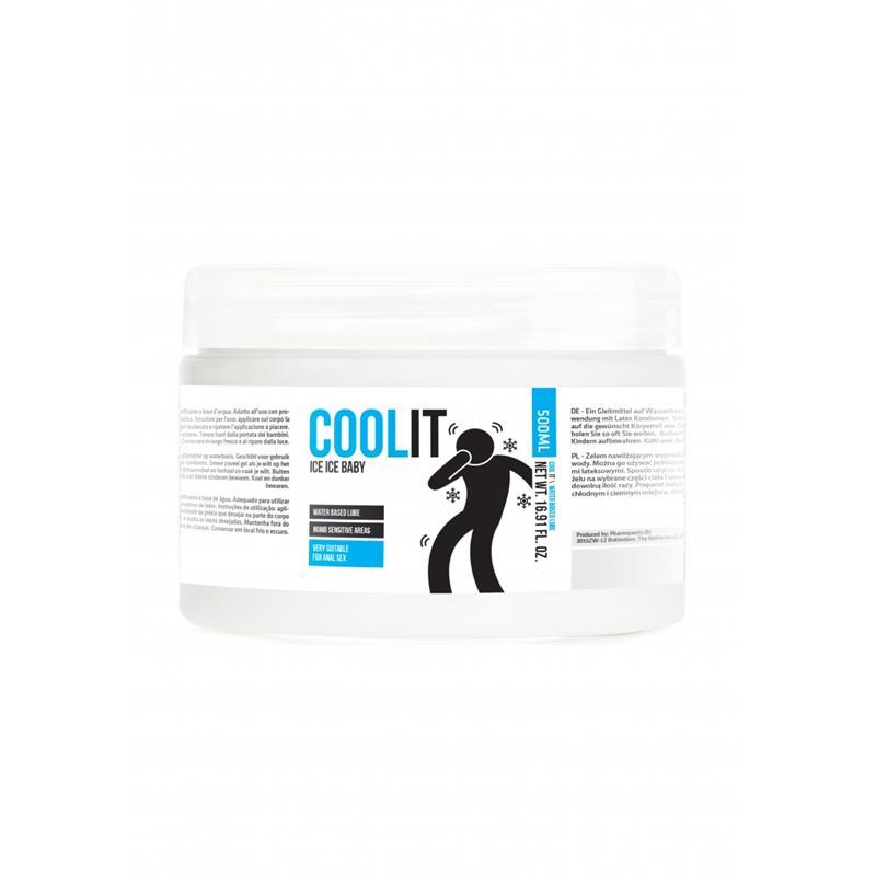 Lubricante Base Agua Cool It Ice Baby 500 ml de PHARMQUESTS #satisfactoys