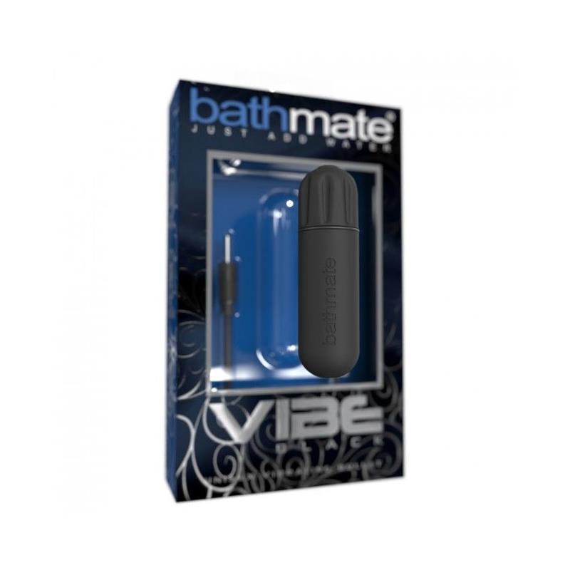 Bala Vibradora Negro de BATHMATE #satisfactoys