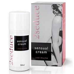 2Seduce Intimate Sensual Cream (50ml)(en/de/fr/es/
