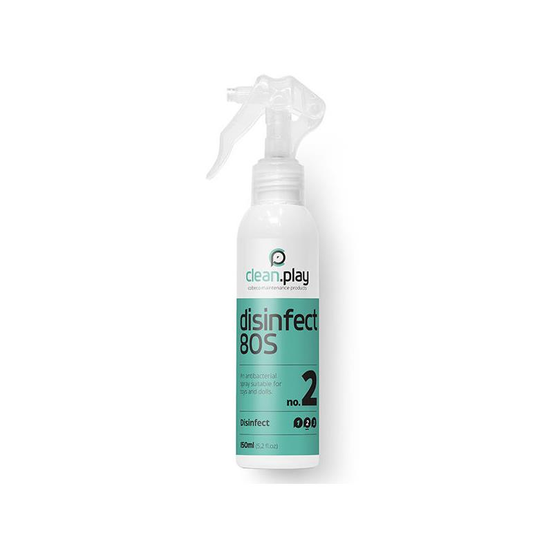 Spray Desinfectante CleanPlay 150 ml de COBECO PHARMA #satisfactoys