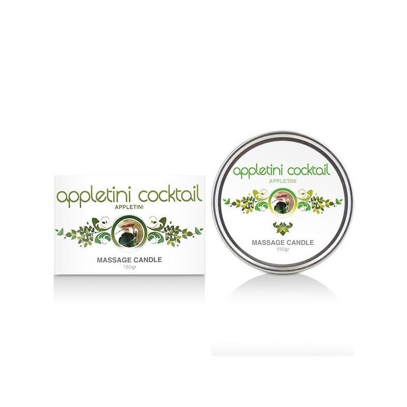 Vela de Masaje Appletini Cocktail 150 gr de COBECO PHARMA #satisfactoys