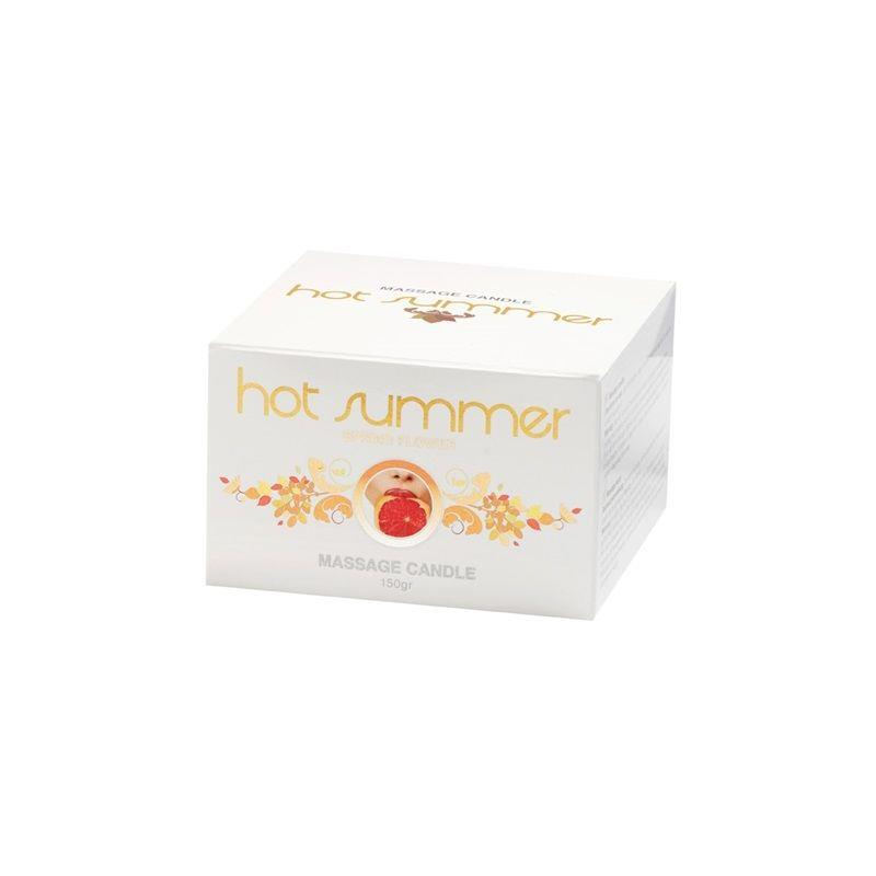 Masážní svíčka Hot Summer 150 gr