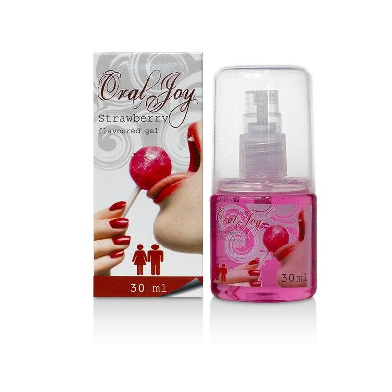 Gel para Sexo Oral Fresa Joy 30 ml de COBECO PHARMA #satisfactoys