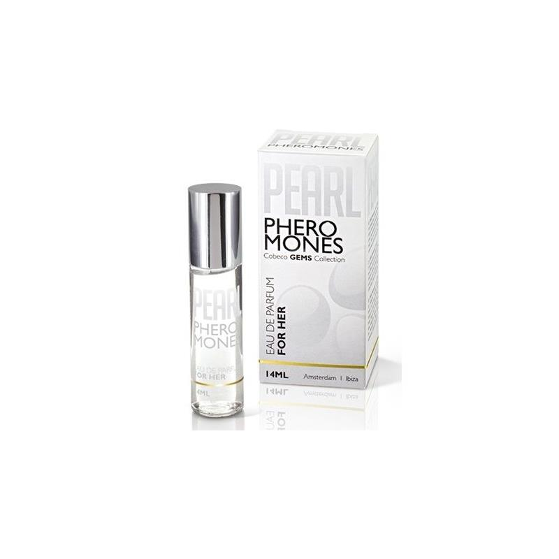 Perfume con Feromonas Femenino Pearl 14 ml de COBECO PHARMA #satisfactoys