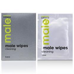 MALE Cobeco Wipes Cleaning (5x5ml) (en/de/fr/es/it