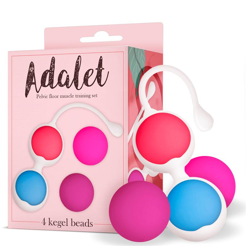 Kit 4 Bolas Kegel Silicona de ADALET #satisfactoys