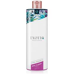 Exotiq Body To Body Warming Massage Oil - 500 ml