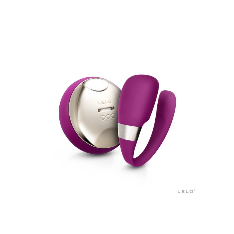 TIANI 3  Vibrador Parejas Rosa Intenso de LELO #satisfactoys