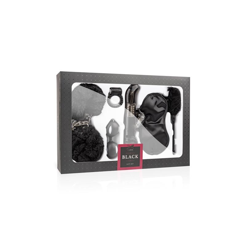 Set I love Black de LOVEBOXXX #satisfactoys